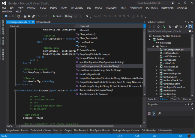 Visual Basic Tools for Visual Studio - Visual Studio Marketplace